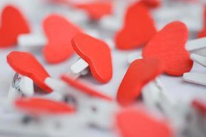 corazones rojos foto