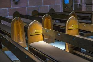 detail of bench in the dome of Wetzlar photo