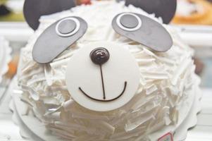 Birthday cakes, pastries design photo