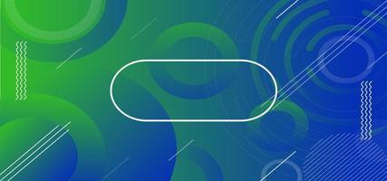 Fluid Geometric Color Banner