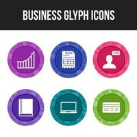 6 business icons pack