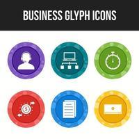 6 Business Glyphs
