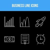 6 business icons