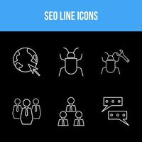 Business and SEO icon set