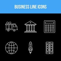 Business icons pack  vector
