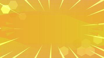 Abstract yellow burst background