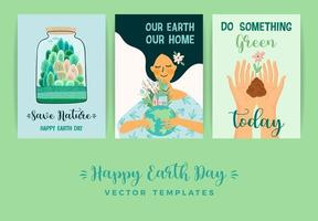 Earth Day Save Nature Templates