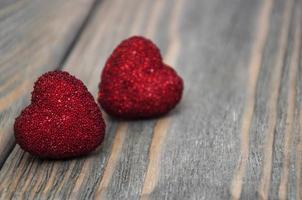 twee rode harten
