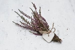 flores com coração