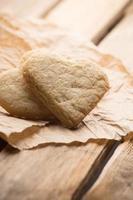 corazones de galleta. foto