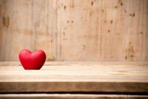 corazón rojo. foto