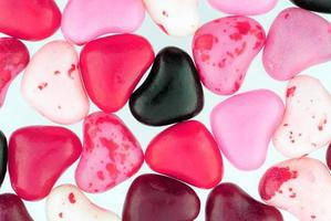 Close Up of Colorful Valentine Candies