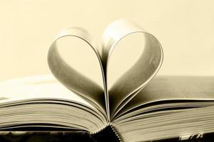 Book as heart photo