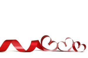 moldura de fita coração