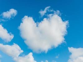 cloud heart shape