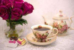 Valentine's Day tea photo