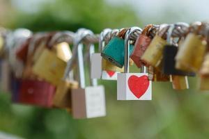 llave del corazon amor foto