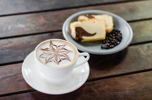 arte de la espuma del latte