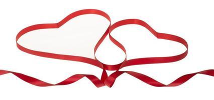 cinta en forma de corazón - San Valentín foto