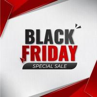 Black friday special sale banner