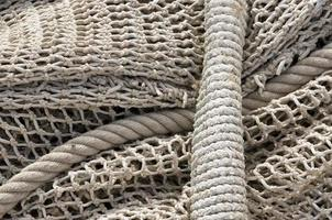 Rope and net background