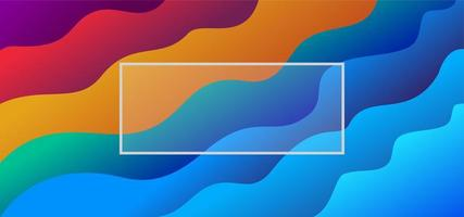 Liquify Fluid Color Banner Background