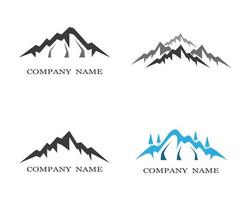 Mountain icon designs
