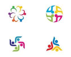 conjunto de iconos de la comunidad vector