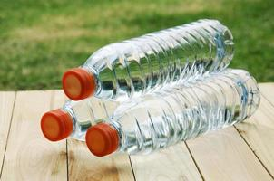 Bottled water photo