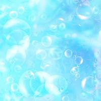 bolhas sob a água