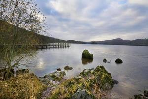 Coniston Water Lake District Cumbria