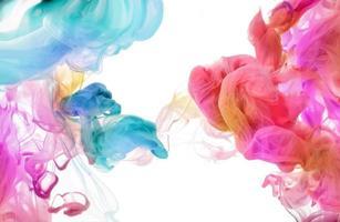 colores acrílicos al agua. fondo abstracto. foto