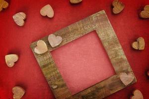 marco de madera foto