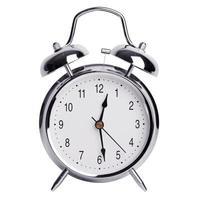 doce y media en un despertador