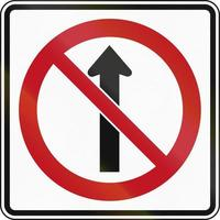No Straight Through in Canada