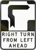 giro a la derecha desde la izquierda en Australia