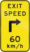 velocidad de salida de aviso en australia