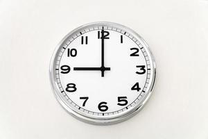 reloj de pared, medición del tiempo, de cerca