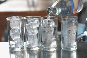 photo of water glass