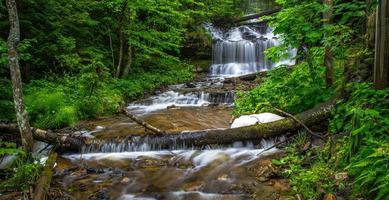 Wagener Falls In Beautiful Munising Michigan