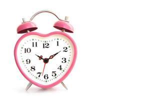 reloj despertador rosa
