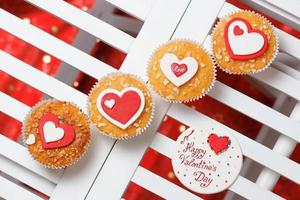 muffins de san valentín