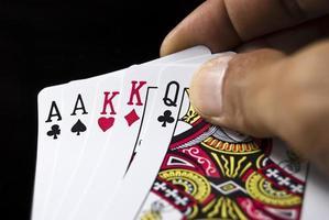 tarjetas de juego foto