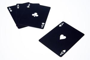 póquer y juegos de azar foto