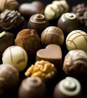 heerlijke chocoladepralines