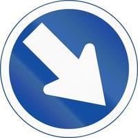 mantente a la derecha en botswana