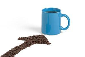 Coffee Bean Arrow photo
