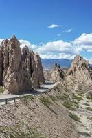 Las Flechas Gorge in Salta, Argentina. photo