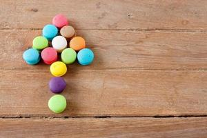 Arrow colorful French Macaroon
