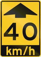 Advisory Speed Ahead in Canada